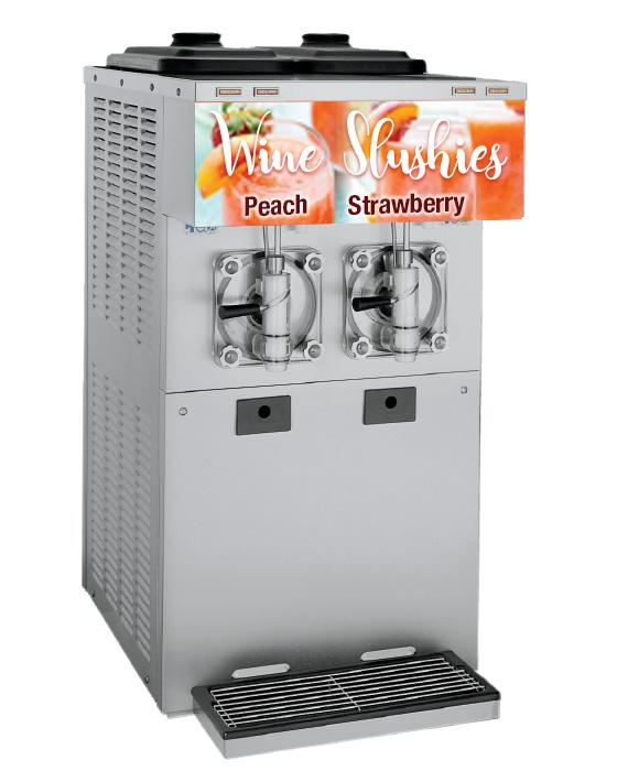 432 2 flavor frozen beverage machine