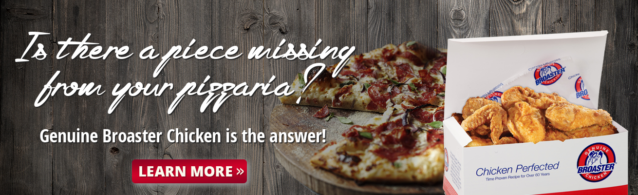 is there a piece missing from your pizzaria?