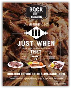 Rock County Smokehouse Brochure