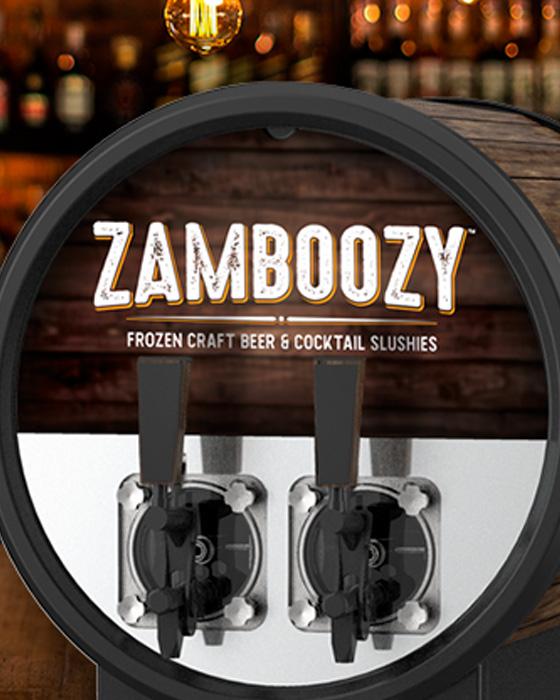 zamboozy C300 frozen adult beverage machine