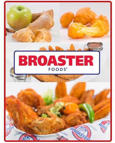 new broaster foods