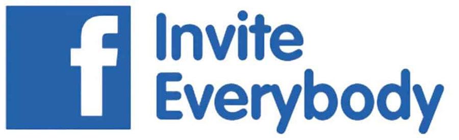 Invite people on facebook!