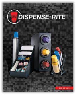 Dispense-Rite dispensers and organizers