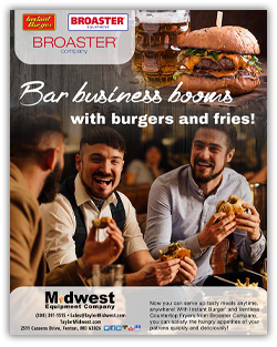 Bar business booms with burgers and fries