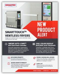 NEW SmartTouch Ventless Fryer Spec Sheet