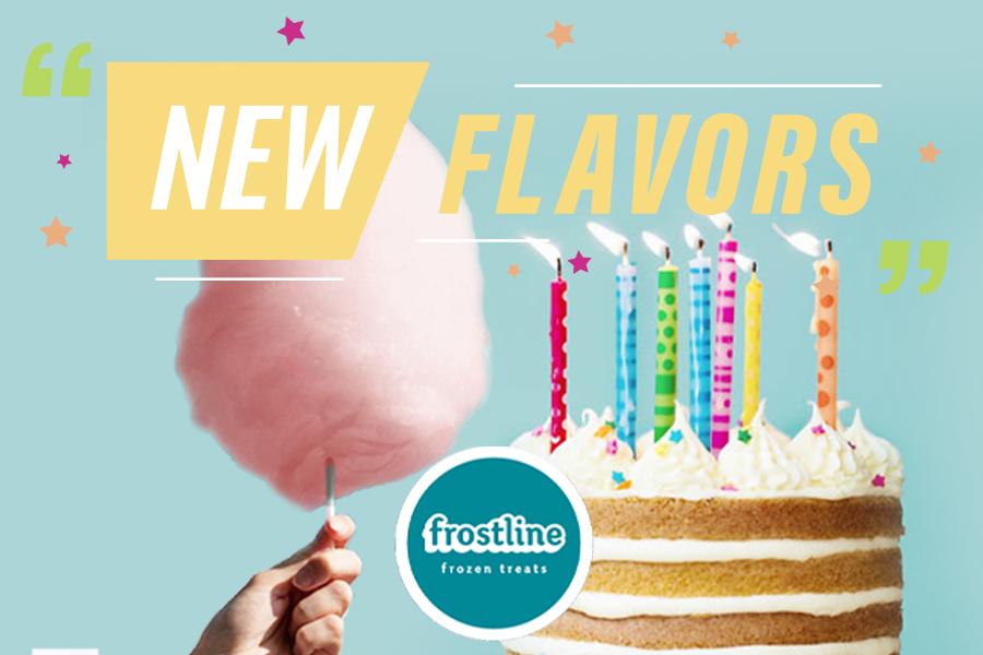 NEW soft serve flavors!